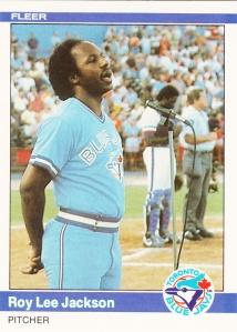 1984 Fleer Roy Lee Jackson