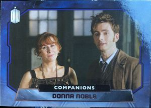 2015 Topps Doctor Who Companions - Donna Noble