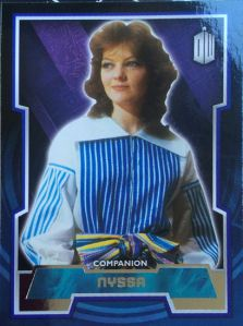 2015 Topps Doctor Who Nyssa