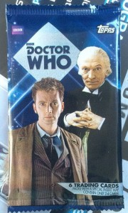 2015 Topps Doctor Who Wrapper