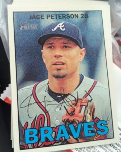 2016 Topps Heritage Jace Peterson