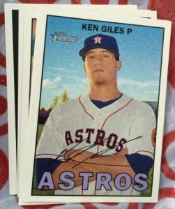2016 Topps Heritage Ken Giles