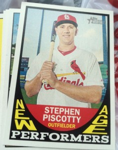 2016 Topps Heritage New Age Performers Stephen Piscotty