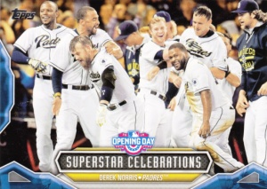 2016 Topps Opening Day Superstar Celebrations Derek Norris