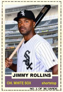 2016 TSRchives 60BZ-1 Jimmy Rollins