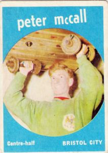1960-61 A&BC Peter McCall
