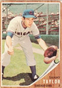 1962 Topps Sammy Taylor