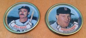 1987 Topps Coins Boggs Clemens