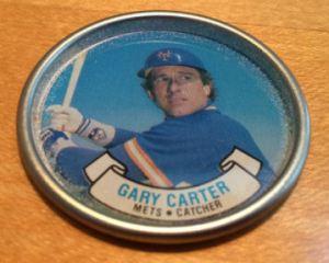 1987 Topps Coins Gary Carter