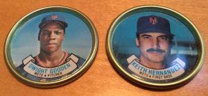 1987 Topps Coins Gooden Hernandez