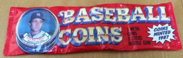 1987 Topps Coins pack