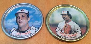1987 Topps Coins Ripken Murray