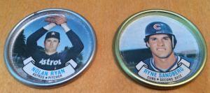 1987 Topps Coins Ryan Sandberg