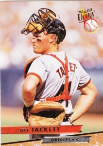 1993 Fleer Ultra Jeff Tackett