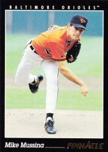 1993 Pinnacle Mike Mussina