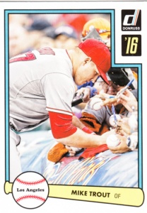 2016 Donruss 1982 Mike Trout