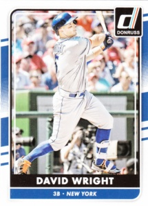 2016 Donruss David Wright