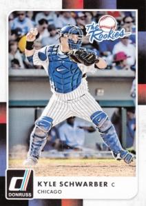 2016 Donruss Kyle Schwarber Rookies