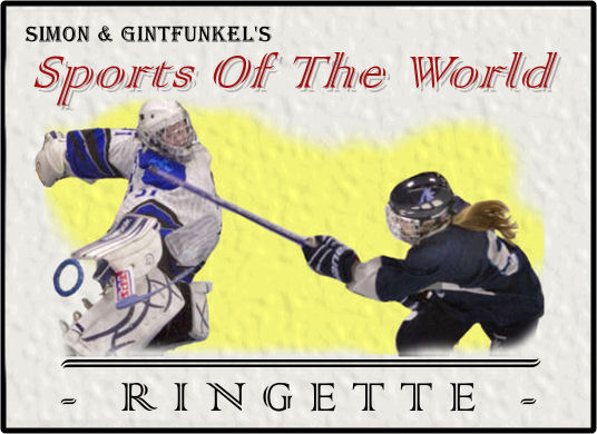 2016 Simon & Gintfunkel Sports Of The World ringette 2