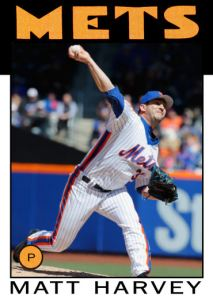 2016 TSRchives 86T-2 Matt Harvey