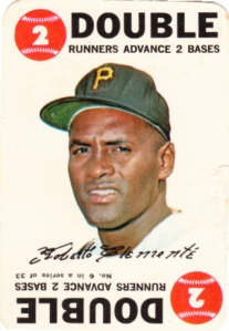 1968 Topps Game Roberto Clemente