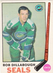 1969-70 OPC Hockey Bob Dillabough