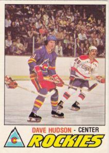 1977-78 OPC Hockey Dave Hudson