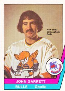 1977-78 OPC WHA John Garrett