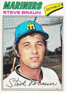 1977 OPC Steve Braun