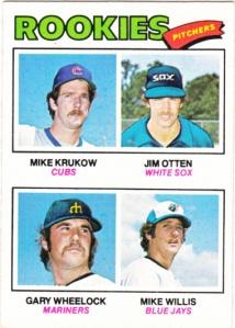 1977 Topps Rookie Pitchers Krukow et al