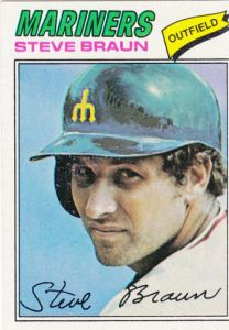 1977 Topps Steve Braun