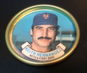 1987 Topps Coins Keith Hernandez