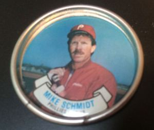 1987 Topps Coins Mike Schmidt