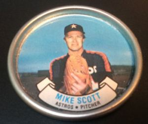 1987 Topps Coins Mike Scott