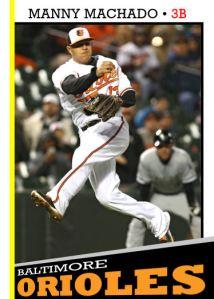 2016 TSR #75 - Manny Machado