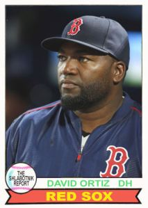 2016 TSRchives 79T-2 David Ortiz