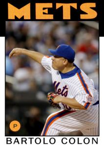 2016 TSRchives 86T-6 Bartolo Colon