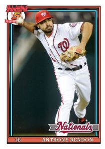 2016 TSRchives 91T-5 Anthony Rendon
