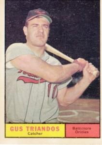 1961 Topps Gus Triandos