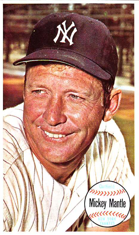 1964 Topps Giant Mickey Mantle