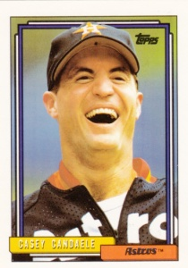 1992 Topps Casey Candaele