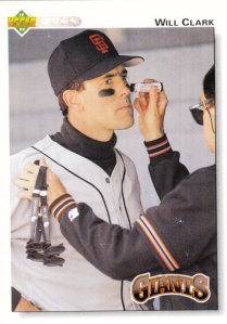 1992 Upper Deck Will Clark