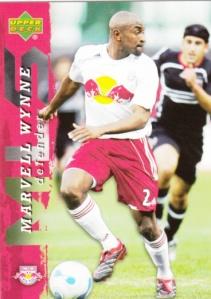 2006 Upper Deck MLS Marvell Wynne