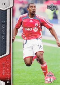 2007 Upper Deck MLS Marvell Wynne