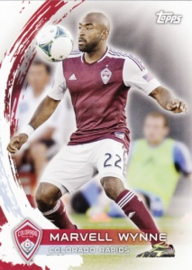 2014 Topps MLS Marvell Wynne