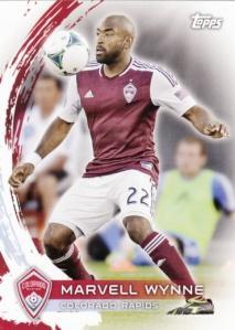 2014 Topps MLS Marvell Wynne