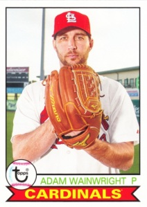 2016 Topps Archives Adam Wainwright