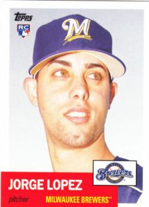 2016 Topps Archives Jorge Lopez