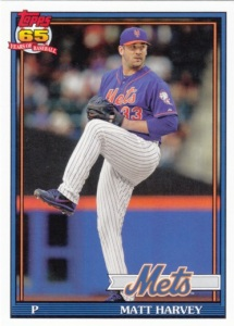 2016 Topps Archives Matt Harvey