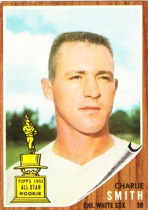 1962 Topps Charlie Smith